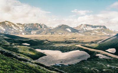 Mountain range [2] wallpaper