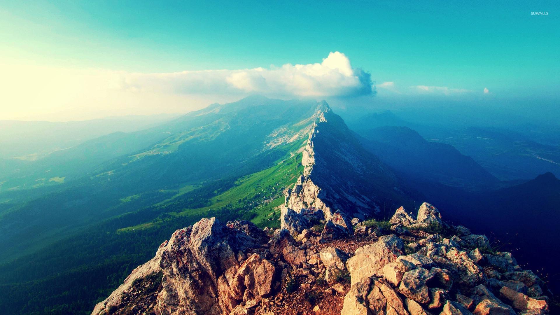 Wonderful Wallpaper Mountain 1440p - mountain-ridge-22394-1920x1080  Photograph_361213.jpg