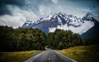 Mountain road [2] wallpaper 2560x1600 jpg