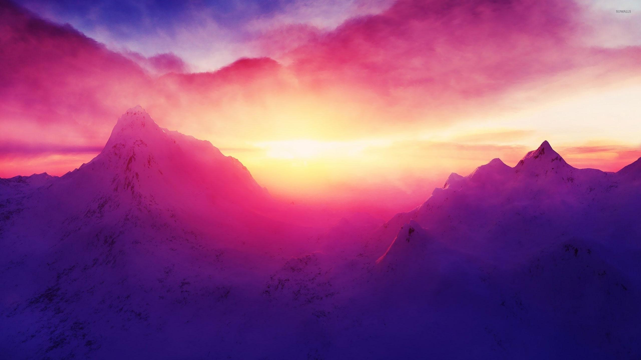 Best Wallpaper Mountain Sunrise - mountain-sunrise-18614-2560x1440  Picture_752793.jpg