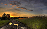 Muddy road wallpaper 1920x1200 jpg