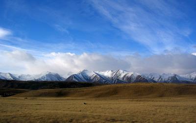 New Zealand mountain range wallpaper