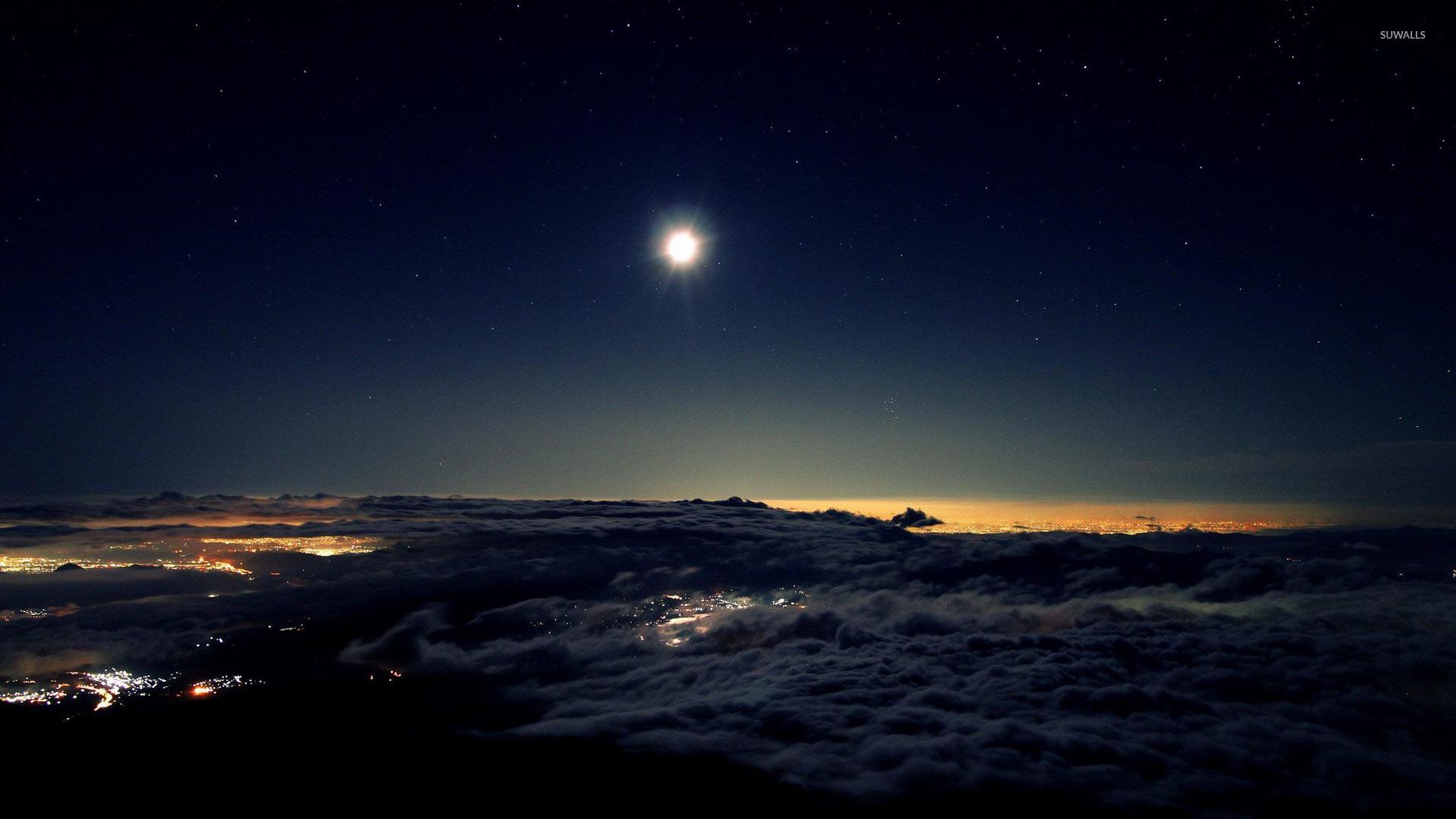 Popular Wallpaper Night Dragon - night-sky-above-the-clouds-28482-1920x1080  Photograph.jpg