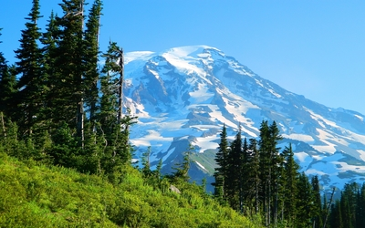 Nisqually Glacier wallpaper