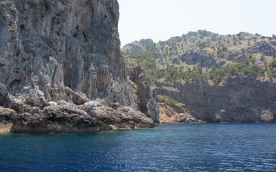 Northern coast of Majorca wallpaper