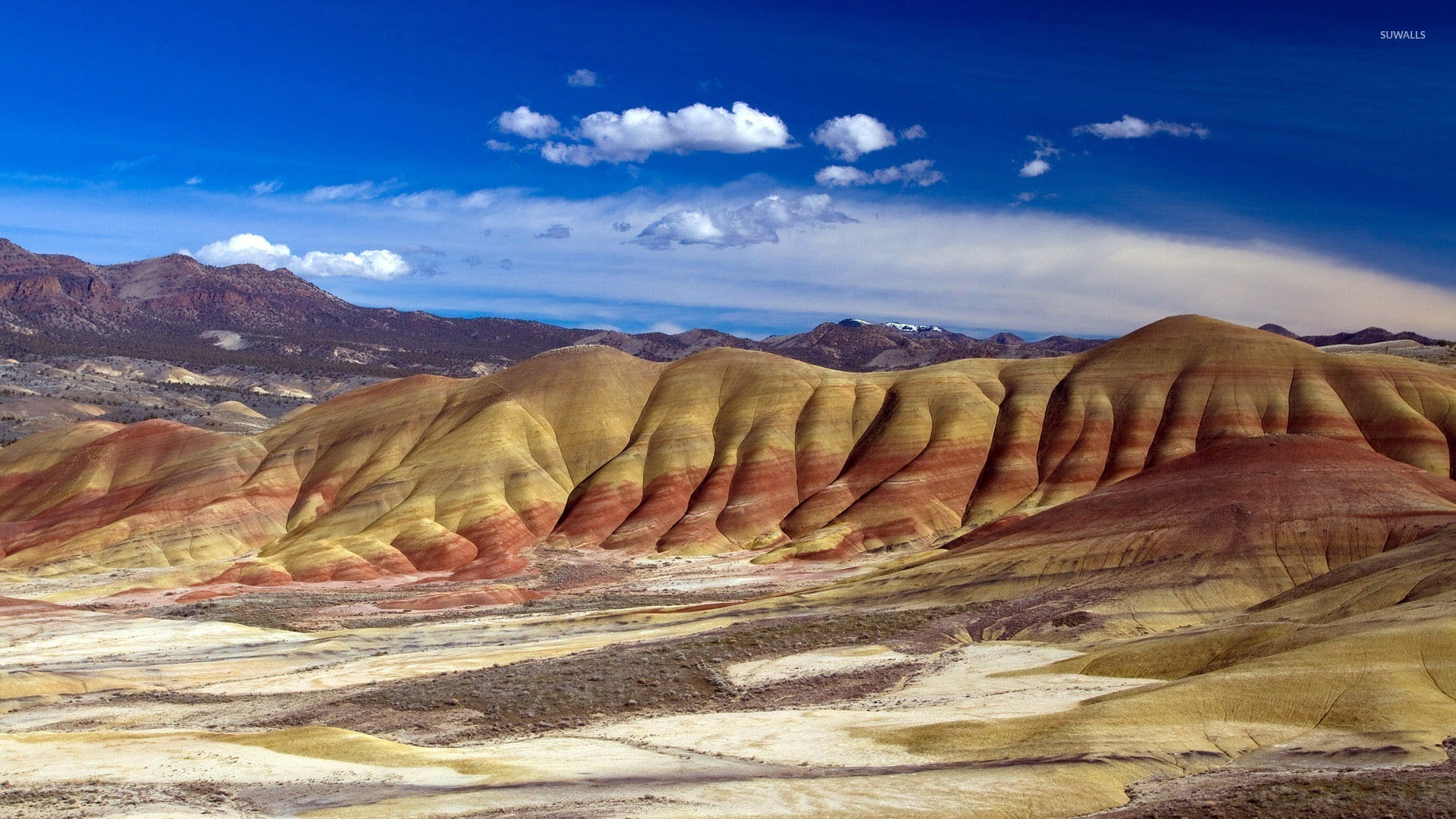 Painted Hills Wallpaper Nature Wallpapers 10850