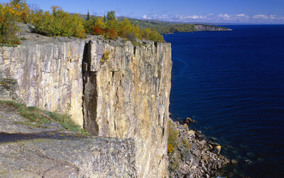 Palisade Head, Lake Superior wallpaper