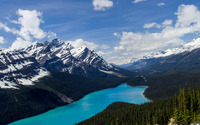 Peyto Lake [2] wallpaper 2880x1800 jpg