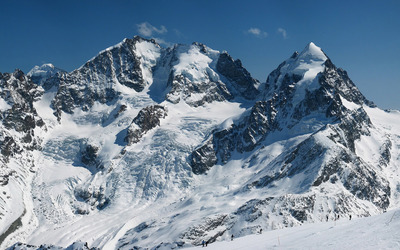 Piz Bernina wallpaper