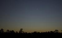 Plane flying at dusk wallpaper 3840x2160 jpg