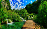 Plitvice Lakes National Park wallpaper 2880x1800 jpg