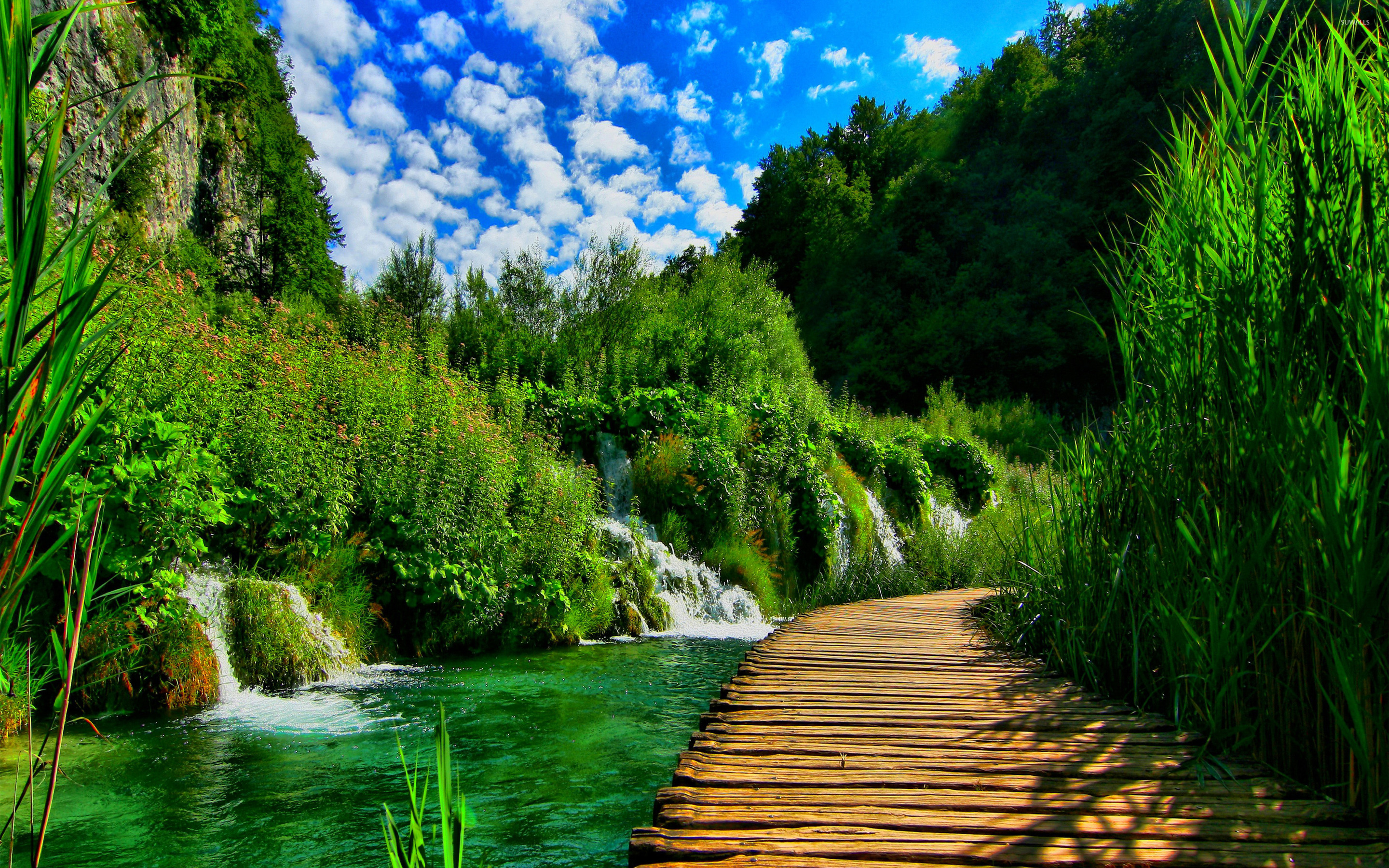 Plitvice Lakes National Park wallpaper - Nature wallpapers ...