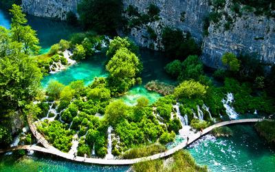 Plitvice Lakes National Park [3] wallpaper