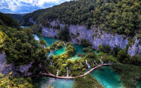Plitvice Lakes National Park [5] wallpaper 1920x1200 jpg