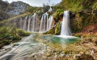 Plitvice Lakes National Park [6] Wallpaper
