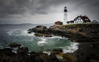 Portland Head Light wallpaper 1920x1200 jpg