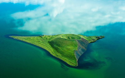 Pseudocrater Isle wallpaper