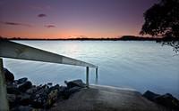 Purple sunset [2] wallpaper 2560x1600 jpg