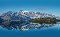 Pyramid Lake, New Zealand wallpaper 2560x1600 jpg