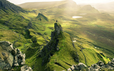 Quiraing, Scotland wallpaper