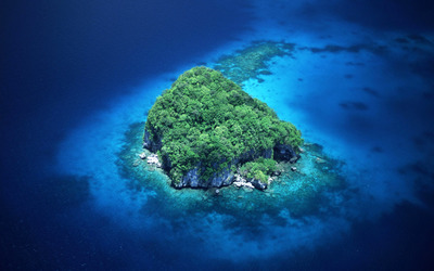 Rock island, Palau wallpaper