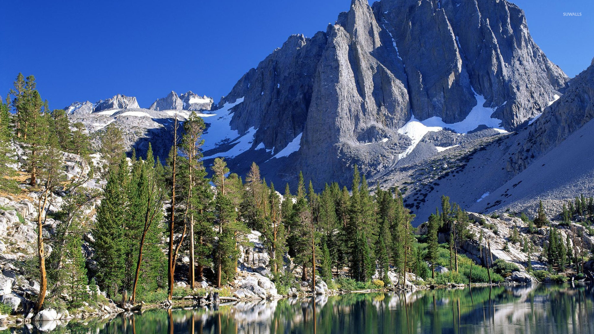 Rocky mountains wallpaper - Nature