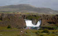 Rocky waterfall [13] wallpaper 2880x1800 jpg