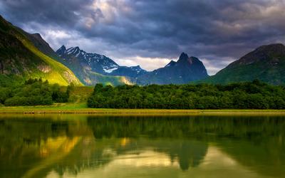 Romsdalen, Norway wallpaper