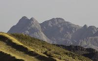 Rounded mountain peaks [2] wallpaper 3840x2160 jpg