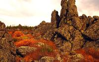 Rusty rock on the hill wallpaper 3840x2160 jpg