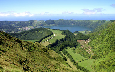 Sao Miguel Island wallpaper