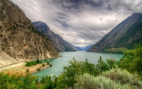 Seton Lake wallpaper 2880x1800 jpg