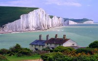 Seven Sisters Cliffs wallpaper 1920x1080 jpg