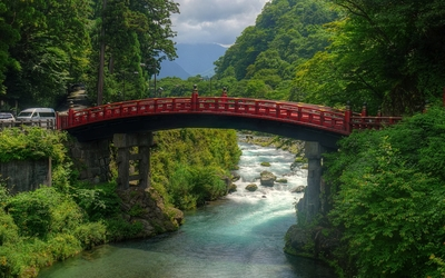 Shinkyo Bridge wallpaper