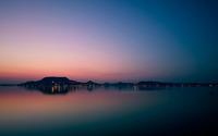 Shore in the evening wallpaper 1920x1080 jpg