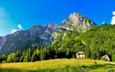 Slovenia mountains wallpaper
