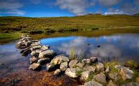 Small creek in Scotland wallpaper 2880x1800 jpg