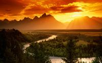 Snake River in Grand Teton National Park wallpaper 1920x1080 jpg