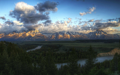 Snake River in Grand Teton National Park [2] wallpaper