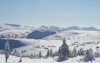 Snowed mountain landscape wallpaper 1920x1080 jpg