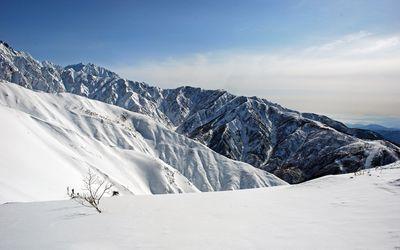 Snowy mountain [2] wallpaper