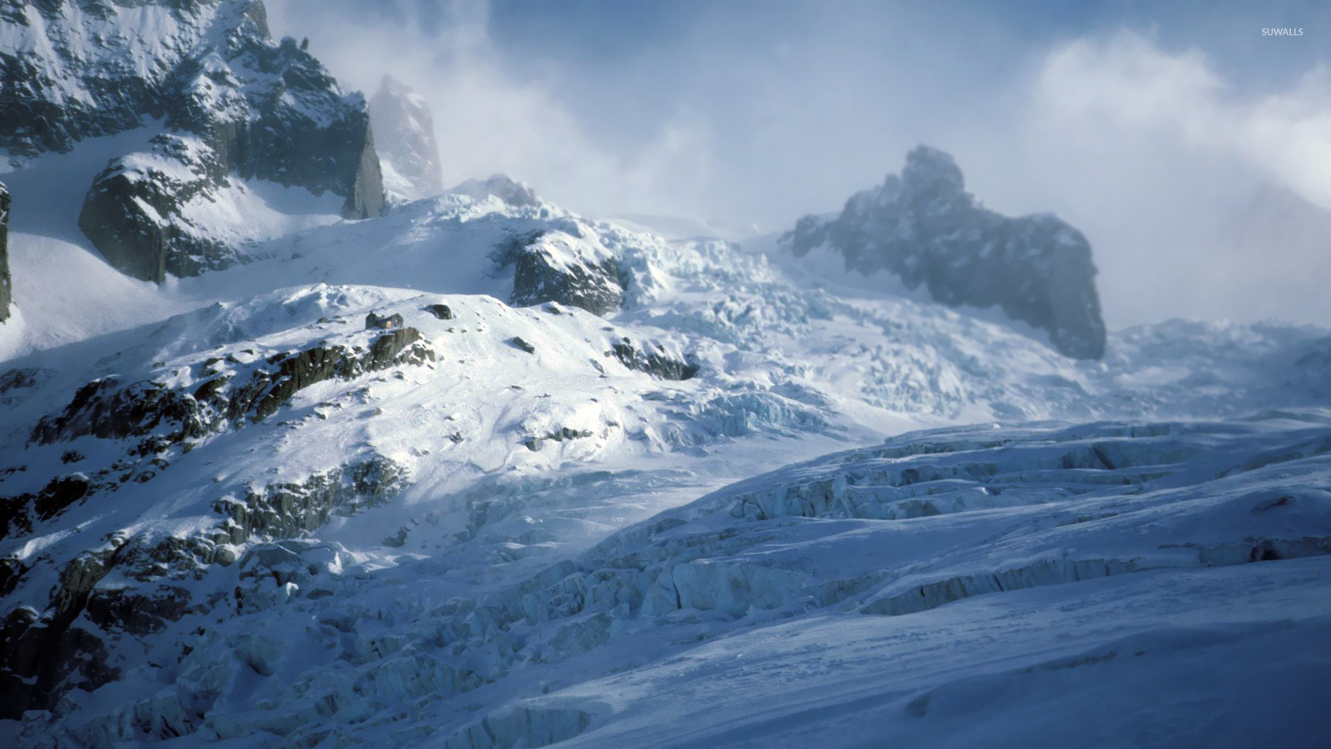 how to live in a snowy mountain