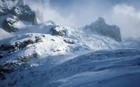 Snowy mountain peaks [2] wallpaper 1920x1080 jpg