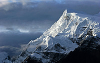 Snowy mountains [2] wallpaper 2560x1600 jpg