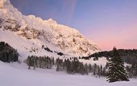 Snowy mountains [13] wallpaper 1920x1080 jpg