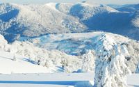 Snowy mountains [9] wallpaper 1920x1080 jpg