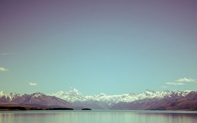 Southern Alps, New Zealand wallpaper