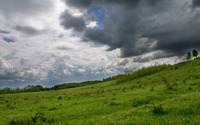 Storm clouds over the hill [2] wallpaper 2880x1800 jpg
