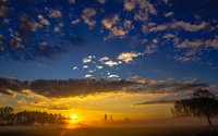 Superb sunset sky wallpaper 1920x1080 jpg