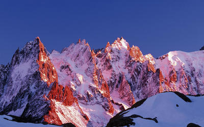 The Aiguilles Rouges wallpaper